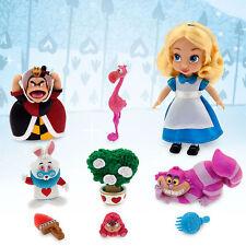 "Disney Store Alice in Wonderland Animator 5"" Toddler Doll Box Play Set Figure"