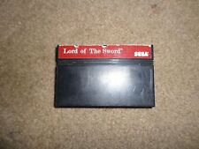 Lord of the Sword (Sega Master System, 1988)