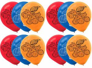 12pcs All Themed Kids Birthday Party Game Disney Cartoons Latex Balloons.