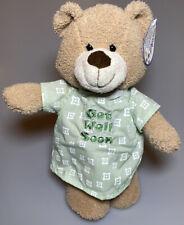 "Get Well Soon Teddy Bear Plush Stuffed Animal Soft Toy Progressive 12"" Hospital"