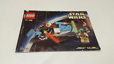 Lego starwars!!! instructions ONLY!!! pour 7103 Jedi Duel
