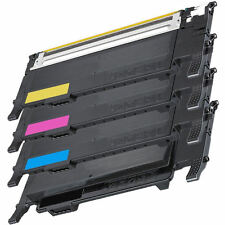 4PK CLT-K407S,C407S,M407S,Y407S Toner Cartridges For Samsung CLP-320 CLP-325 CL