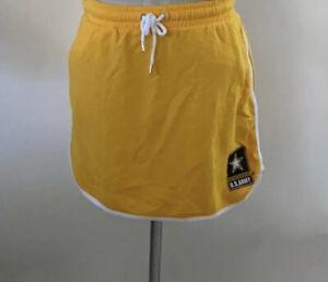 Victoria Secret PINK US Army Yellow Skirt New Size Medium