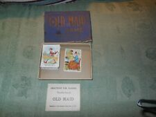 Vintage Old Maid Card Game Parker Brothers