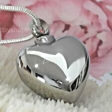 Heart Memorial Keepsake Cremation Urn Pendant Necklace