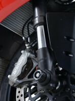 DUCATI PANIGALE V4S 2018 > FORK PROTECTORS R&G FRONT WHEEL AXLE SLIDERS SMALL
