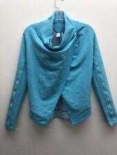 IVIVVA by Lululemon Feeling Toasty Wrap Assymetrical Jacket Cardigan Girl Sz 10