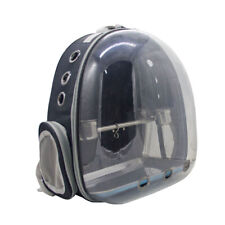 Pet Bird Parrot Space Capsule Carrier Backpack with Perch for Travel, Hiking