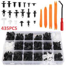 435Pcs Car Retainer Push Pin Rivet Fasteners Trim Moulding Clip Assortments Kit