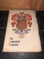 THE CONNECTICUT QUARTERLY ILLUSTRATED MAGAZINE 1908.