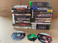 Lot of 38 Video Games -- Xbox One, PlayStation 4, PlayStation 3, GameCube