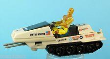 GI JOE lot figurine et vaisseau POLAR BATTLE BEAR & Roadblock figure HASBRO 1983