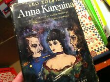 #a-20 OLD BOOK anna karenina 1946 LEO TOLSTOY 1ST PRINTING