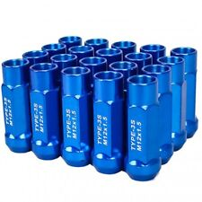 GSP M12X1.5mm Type3-X 55MM Steel Blue Wheel Lug Nut Fit IS250 GS300 SC430 ES ISF