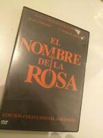 Dvd  EL NOMBRE DE LA ROSA  con sean connery   1 cd