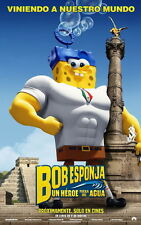 """2015 Movie Film 24/""""x24/"""" Poster 016 The SpongeBob Movie Sponge Out of Water"""