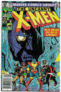 UNCANNY X-MEN#149 VF/NM 1981 MARVEL BRONZE AGE COMICS