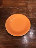 "Fiesta Plate Orange HOMER LAUGHLIN Fiestaware 7.25"" Salad Bread Plate"
