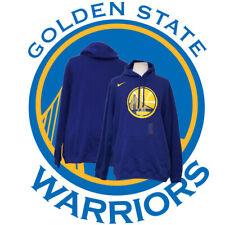 NBA Golden State Warriors Basketball NIKE BIG 3XL Blue Cotton Comfy Hoodie