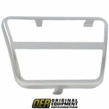 Camaro Chevy Truck Friebird GMC Truck Nova Manual Brake & Clutch Pedal Pad Trim