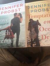 Jennifer Probst Love on Beach Avenue and Temptation on Ocean Dr.