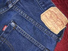 vintage 29 30 Levis 501 redline blue denim jeans pants no big e 30 32