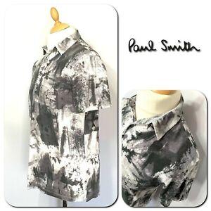 Paul Smith Men's 100% Cotton Short Sleeve Slim Fit Polo Shirt Size L