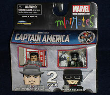 Marvel MiniMates 40 HOWARD STARK & HYDRA SOLDIER 2 PK