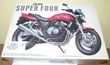 KIT AOSHIMA 1:12 MOTO HONDA CB 400 SUPER FOUR ROSSA E NERA 08