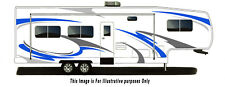 custom Rv, Trailer Hauler, Camper, Motor-home Large Decals/Graphics Kits