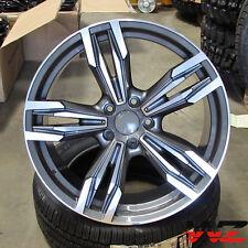 "20"" Wheels Gunmetal Machine fits BMW Series 5 Series M6 Sport Style 433 F12 Rims"