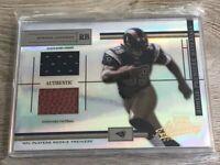Steven Jackson 2004 Playoff Absolute Rookie Premier Materials Card 625/ 750