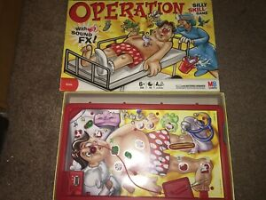 MB Operation Board Game SPARES PARTS Replacements Body Extra Playing Pieces 2007
