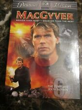 New Sealed MacGyver The Complete Sixth Season Dvd 6-Disc