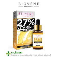 BIOVENE SERUM VITAMINA C 27% FACIAL SERUM AGE-DEFYING ACIDO HIALURONICO 30ML
