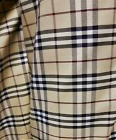 Original Burberry fabric material genuine trench coat NOVA Fabric 150cm wide