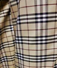 3m Burberry fabric material genuine trench coat Nova Check Fabric 150cm wide
