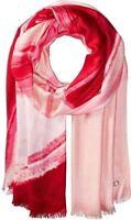 Calvin Klein Convertible Swirl Ombre Wrap Tie-Dye Pashmina Scarf Shawl, Pink Hib