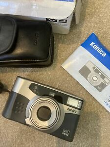 A Konica X-up 110 Vp Camera With Case Original Box And Instruction Book