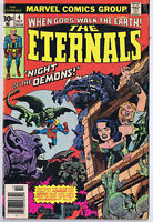 Eternals #4 ORIGINAL Vintage 1976 Marvel Comics 1st Gammenon the Gatherer