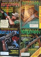 Vintage (12) American Rifleman Magazine NRA 1992 Issues Very Good Condition..!