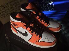 Air Jordan 1 Mid SE Turf Orange Mens Size 9 BNWB DD6834 802 FREE SHIPPING!