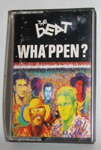 Vintage THE BEAT - Wha'ppen? Cassette Album Tape UK