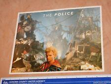 "Original 1984 The Police - Sting - Freezz Frame Promo Photo 8"" X 10"", (2)"