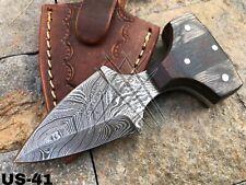 AMERICANO CUTLERY CUSTOM HANDMADE DAMASCUS STEEL HUNTING KNIFE - US-41
