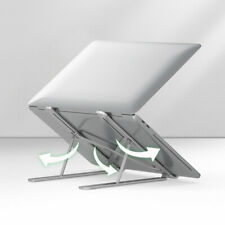 Laptop Stand Adjustable Desk Portable Laptop Riser Laptop Holder Aluminum Alloy