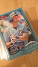 2014 Topps Series 1 and 2 Wal-mart blue lot of 38 baseball cards