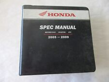2005 2006 2007 American Honda Motorcycle Scooter Atv Spec Manual