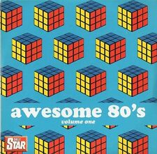 VARIOUS ARTISTS  ‎–  AWESOME 80's VOLUME ONE, Daily Star CD