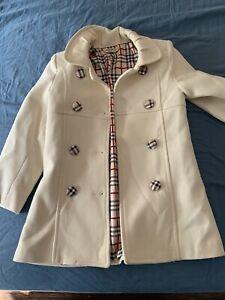 Burberry Coat Kids Size 4-5 Girls